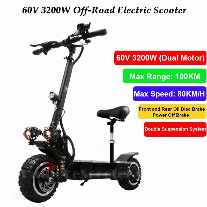 Powerful Off Road Electric Skateboard Folding Electric