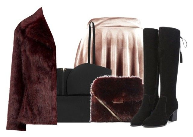 """""""When you all have Guns For Hands"""" by silv3r ❤ liked on Polyvore featuring Boohoo and Alexander McQueen"""