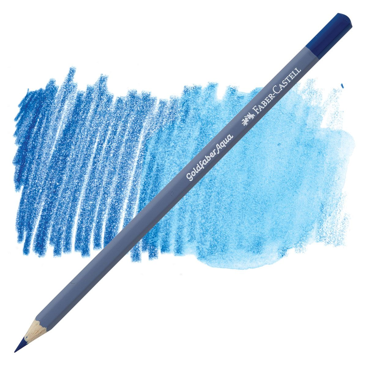 Watercolor Pencil Helioblue Reddish 151 By Faber Castell Stamp