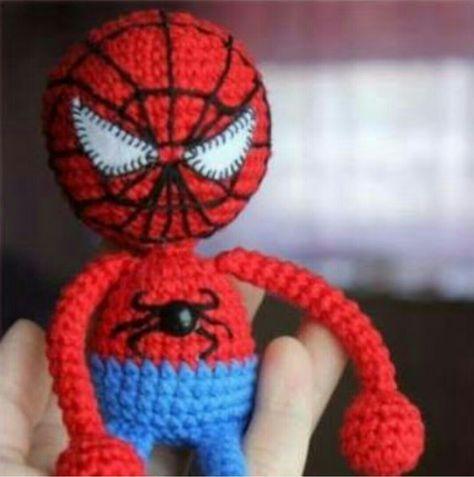 Amigurumi Örgü Örümcek Adam ( Spiderman ) Yapılışı ( Anlatımlı ...