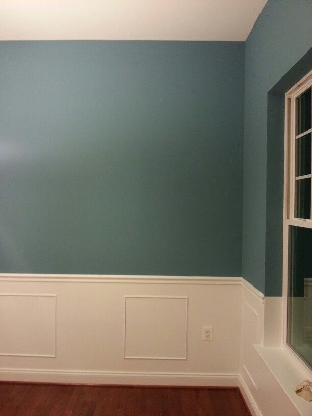 Sw7612 Mountain Stream By Sherwin Williams Applied By Brackens
