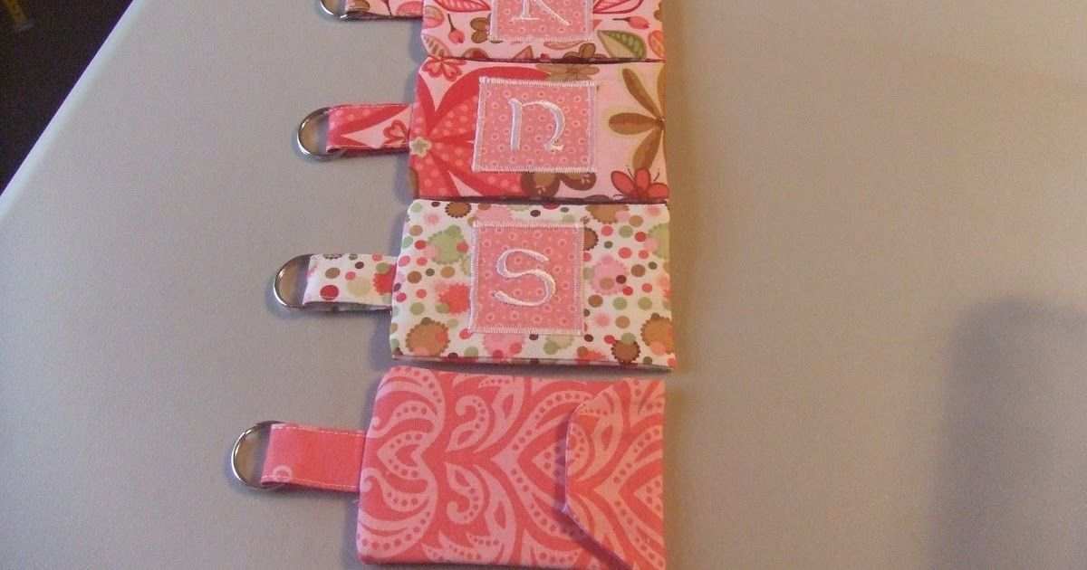 card holder key chain tutorial  craft business cards