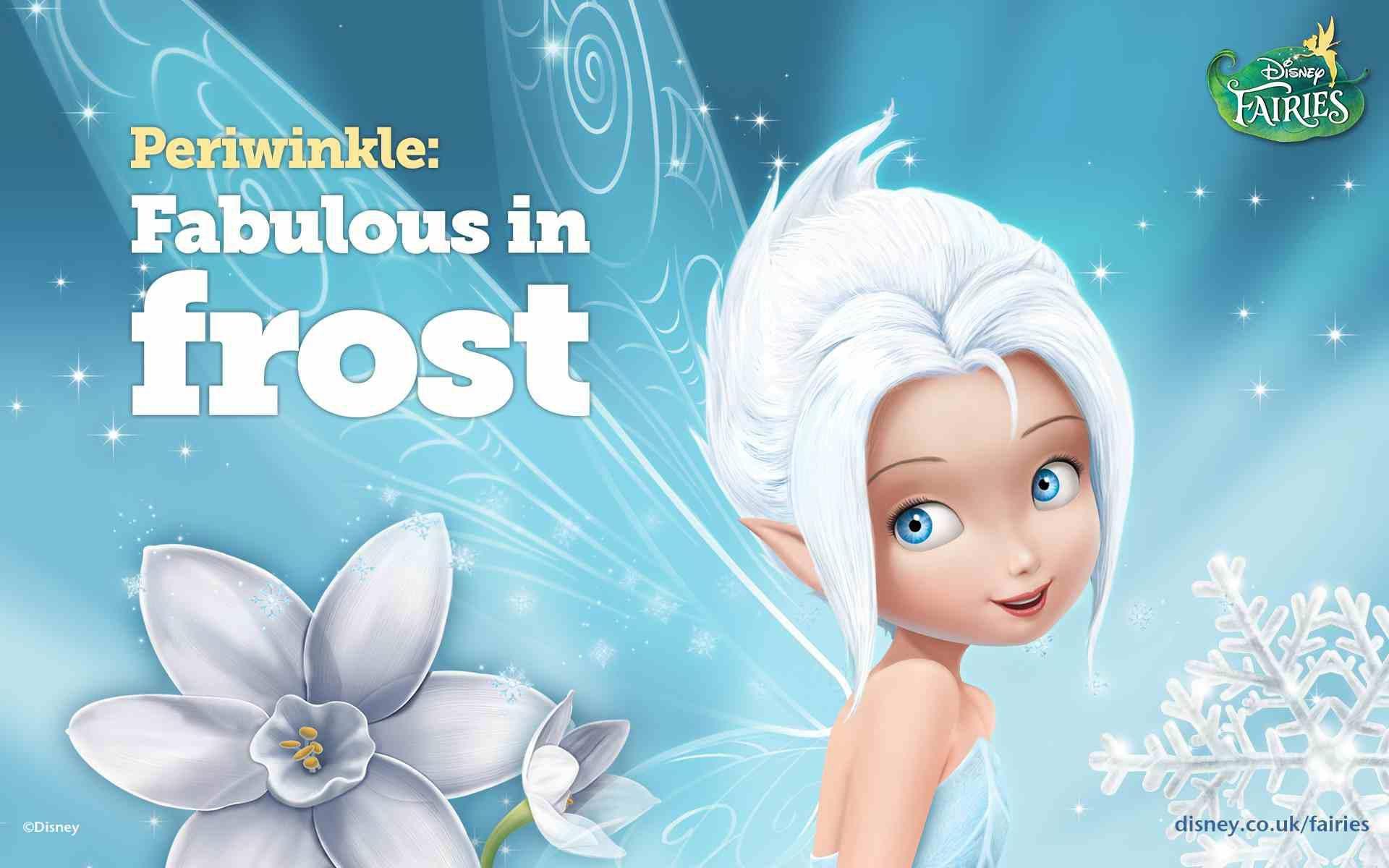 Frost Disney Fairy Periwinkle Disney Hadas Y Dibujos