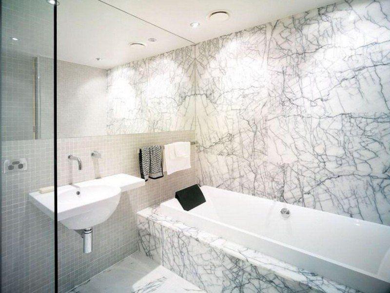 salle de bain travertin le chic noble de la pierre naturelle - Joint Travertin Salle De Bain