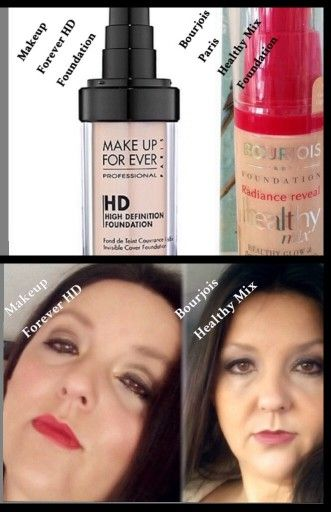 Makeup Forever Hd Foundation Dupe My Choice Is Bourjois Healthy Mix Mufe Hard To