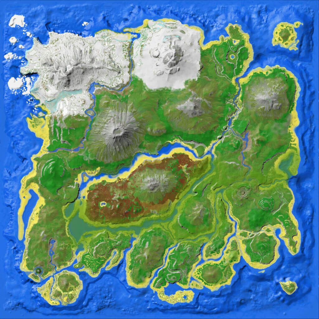 Resource Map The Island Official Ark Survival Evolved Wiki Ark Survival Evolved Ark Survival Evolved Tips Ark