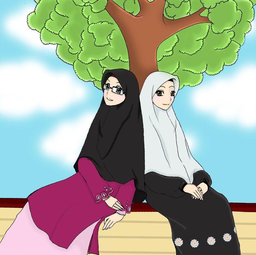 Sinergi By Idzasugar2 Anime Manga Hijab T Muslim