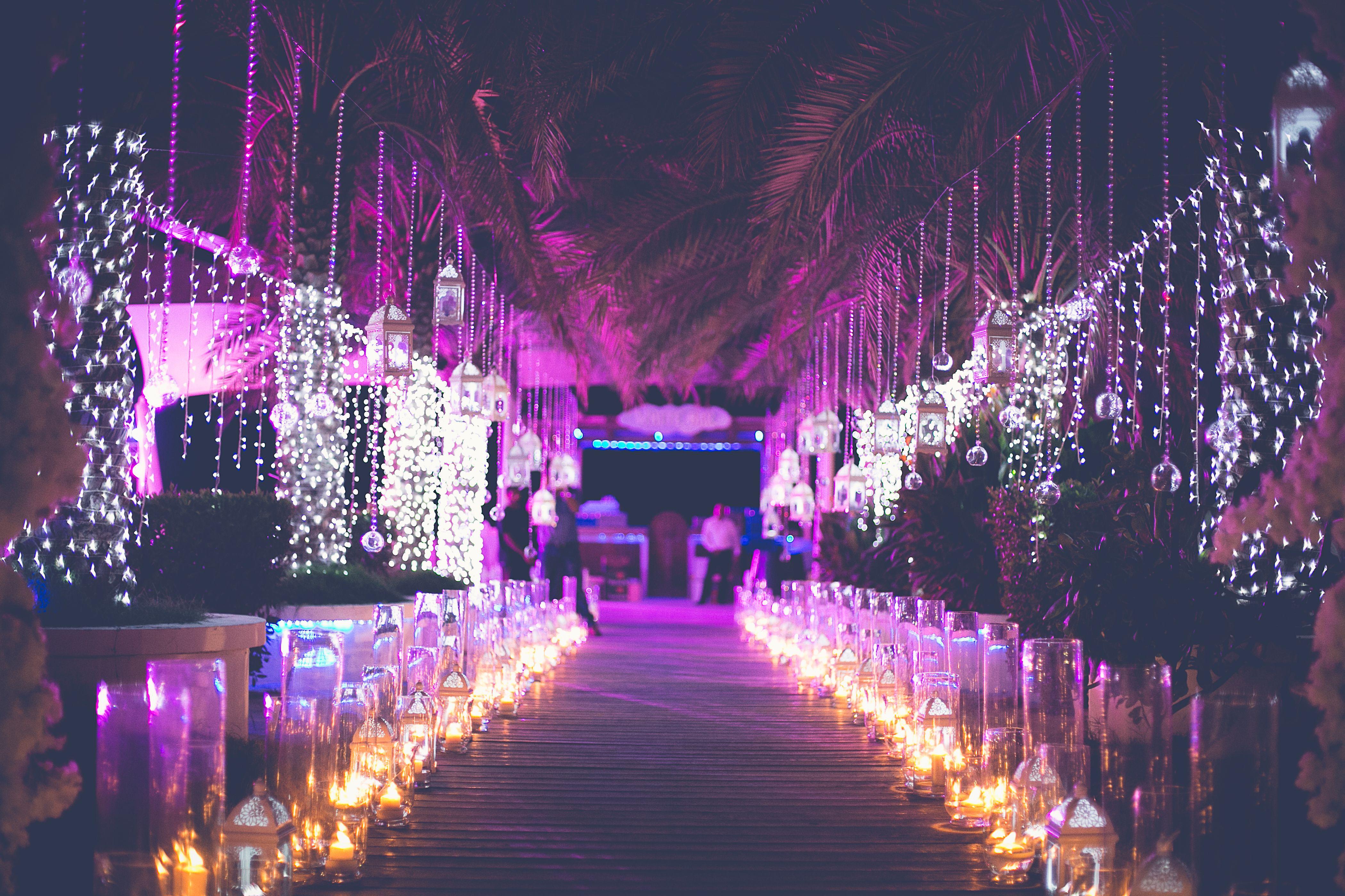 Wedding Entrance Decoration by Tamarind Global Weddings