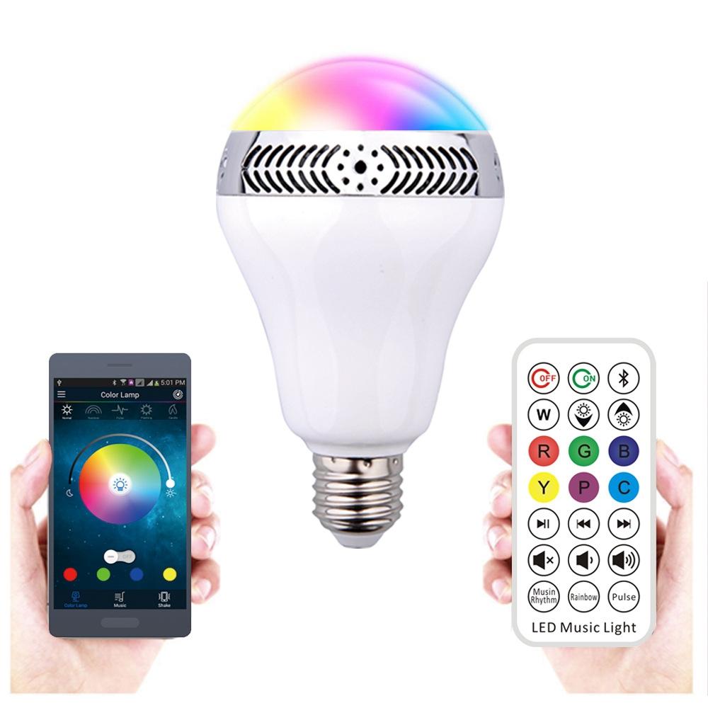 Buy now Smart phone control LED music bulb LED Bluetooth