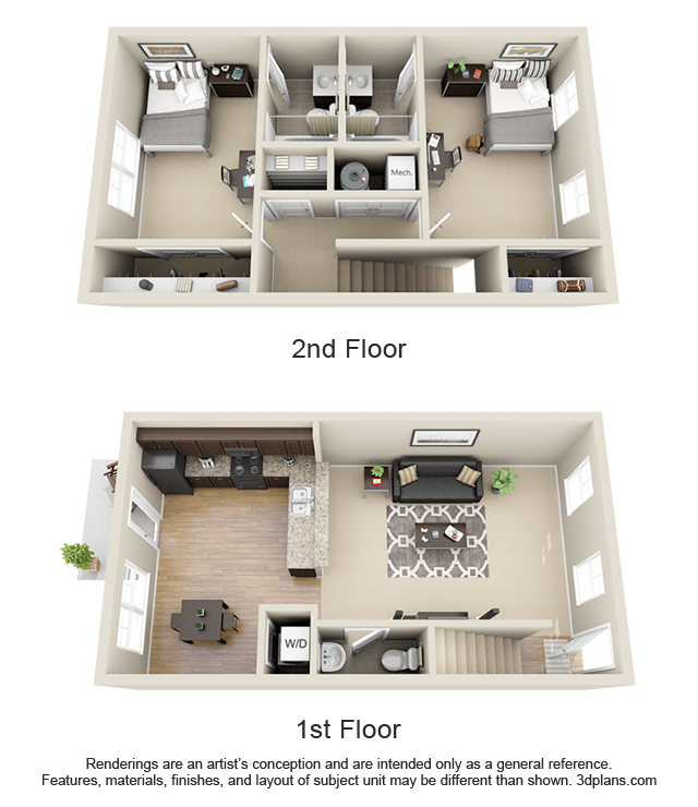 Check Out This Great Student Housing Floor Plan At The Cottages At Lindberg In West Lafayette In House Layout Plans Sims House Design Sims House