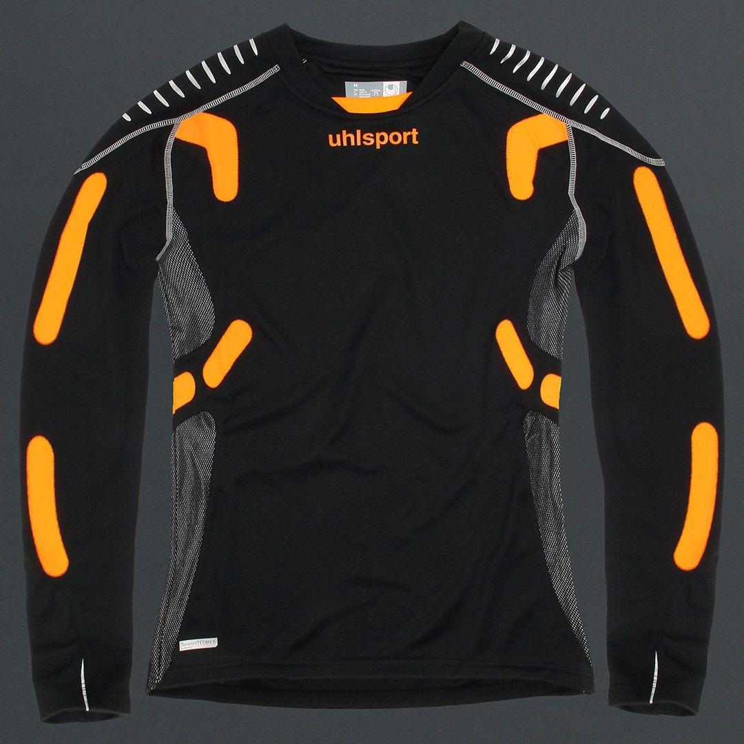 bea36192d1c31 UHLSPORT LS BLACK TECHNIK GOALKEEPER JERSEY - Uhlsport - Goalkeeper Shirt -  Goalkeeper