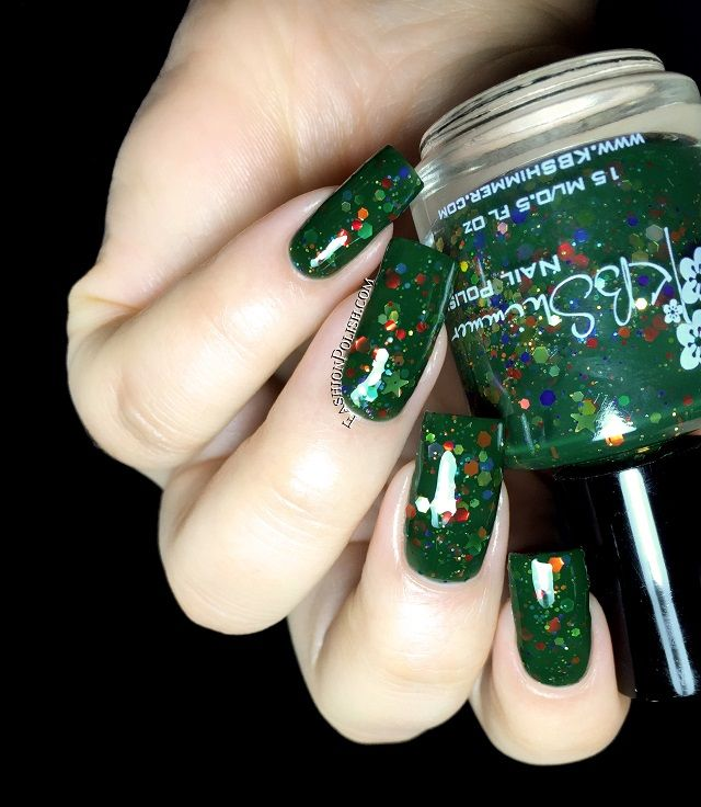 KBShimmer All Decked Out | Wishlist Nail Polish | Pinterest