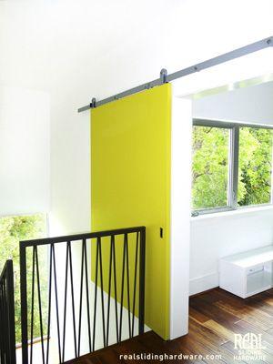 Modern Sliding Hardware Over Stairs Inside Barn Doors Barn Style Doors Sliding Barn Door Hardware