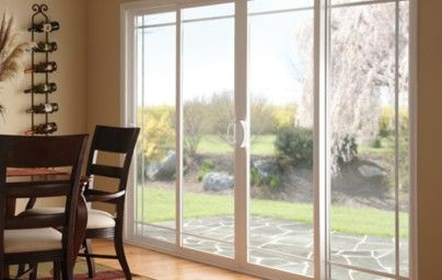 This Eloquent Ply Gem 4 Panel Sliding Patio Door With Complimentary Prairie  Style Sculpted Grids Really