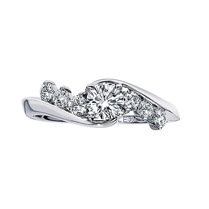 Kay Jewelry Wedding Rings: Round-Cut Engagement Rings