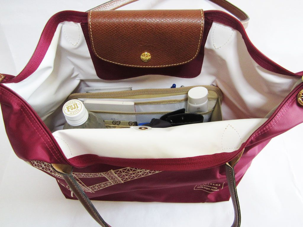 Purse Organizer Insert for Longchamp Le Pliage Large Long Handle. Emma 28  by CloverSac  22.00 4a126d3d9ef8b