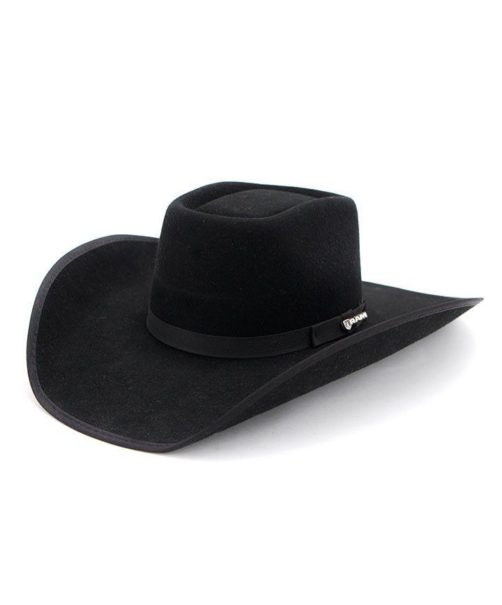 2f09e28785b Kids Black Dodge Ram Hat at Maverick Western Wear