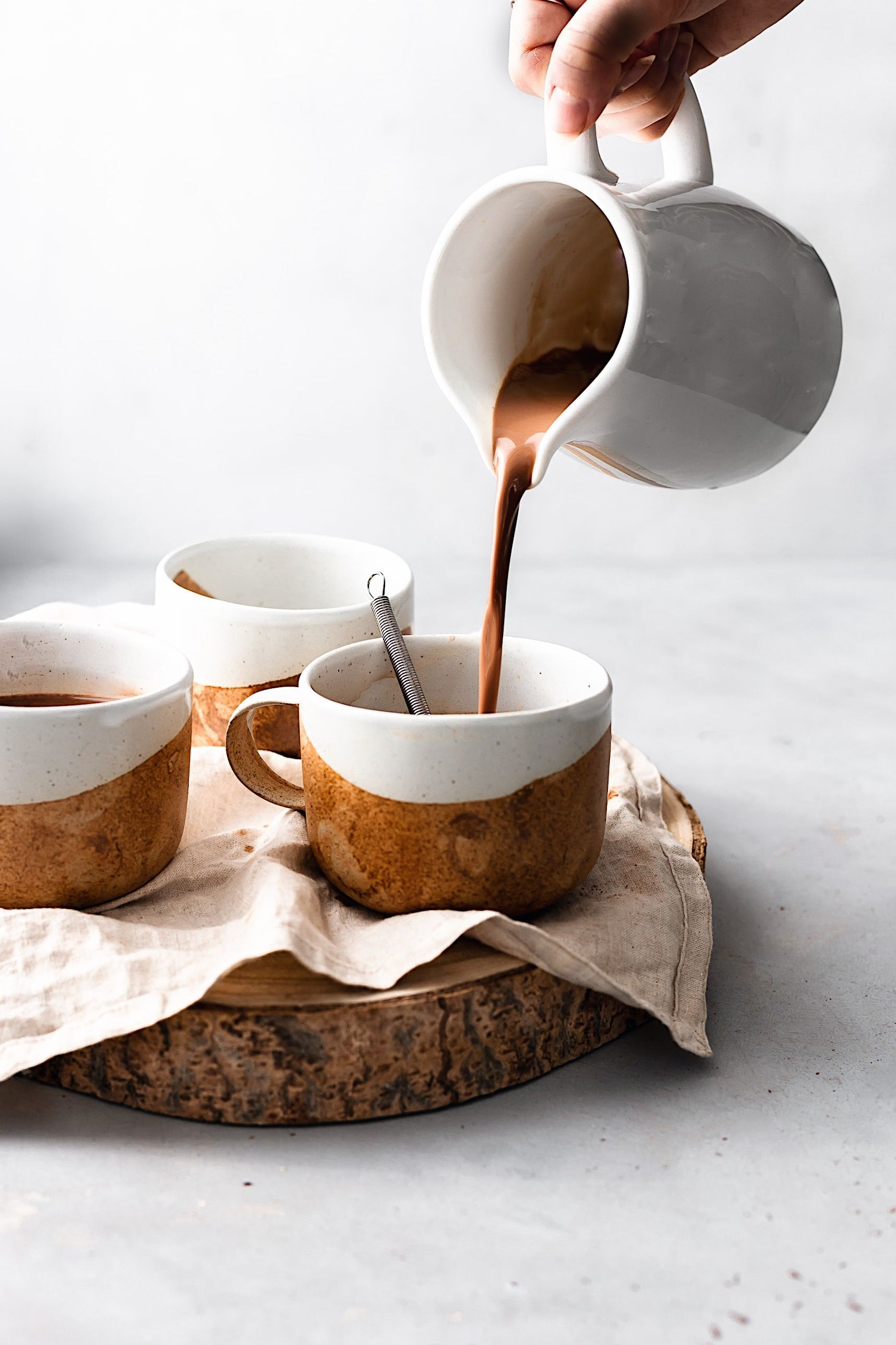 Vegan Chai Spice Hot Chocolate #recipes #foodblogger #foodie #blogging #chocolate