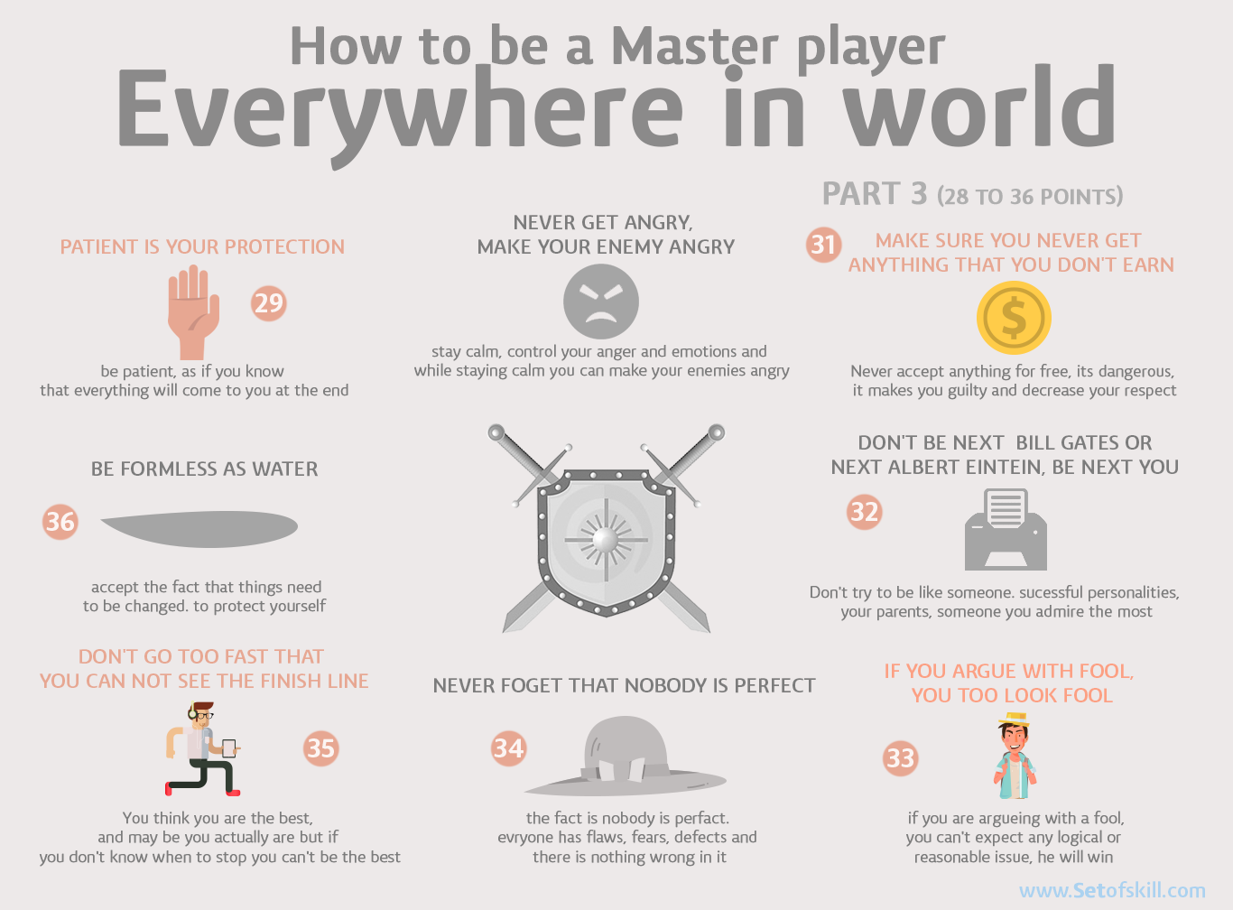 Become a Master Player in Everything