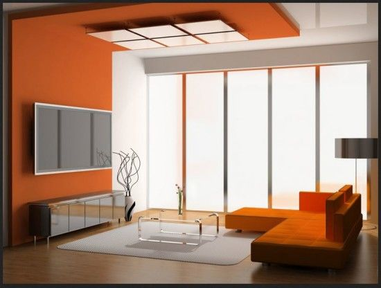 Orange Interior Paint Colors Your Home Look Dazzling with Interior ...