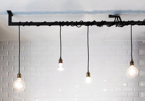 Câbles personnalisés barre suspension industrielle par LightCookie