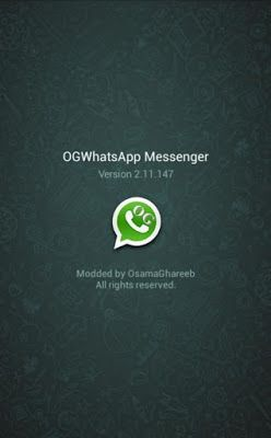 OGWhatsApp Apk For Android – Mod Apk Free Download For
