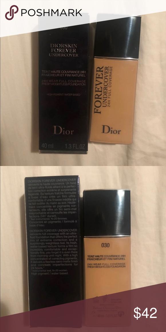 7eeb3d8e48 Dior Diorskin Forever Undercover 030 030 Neutral Medium Beige 24 ...