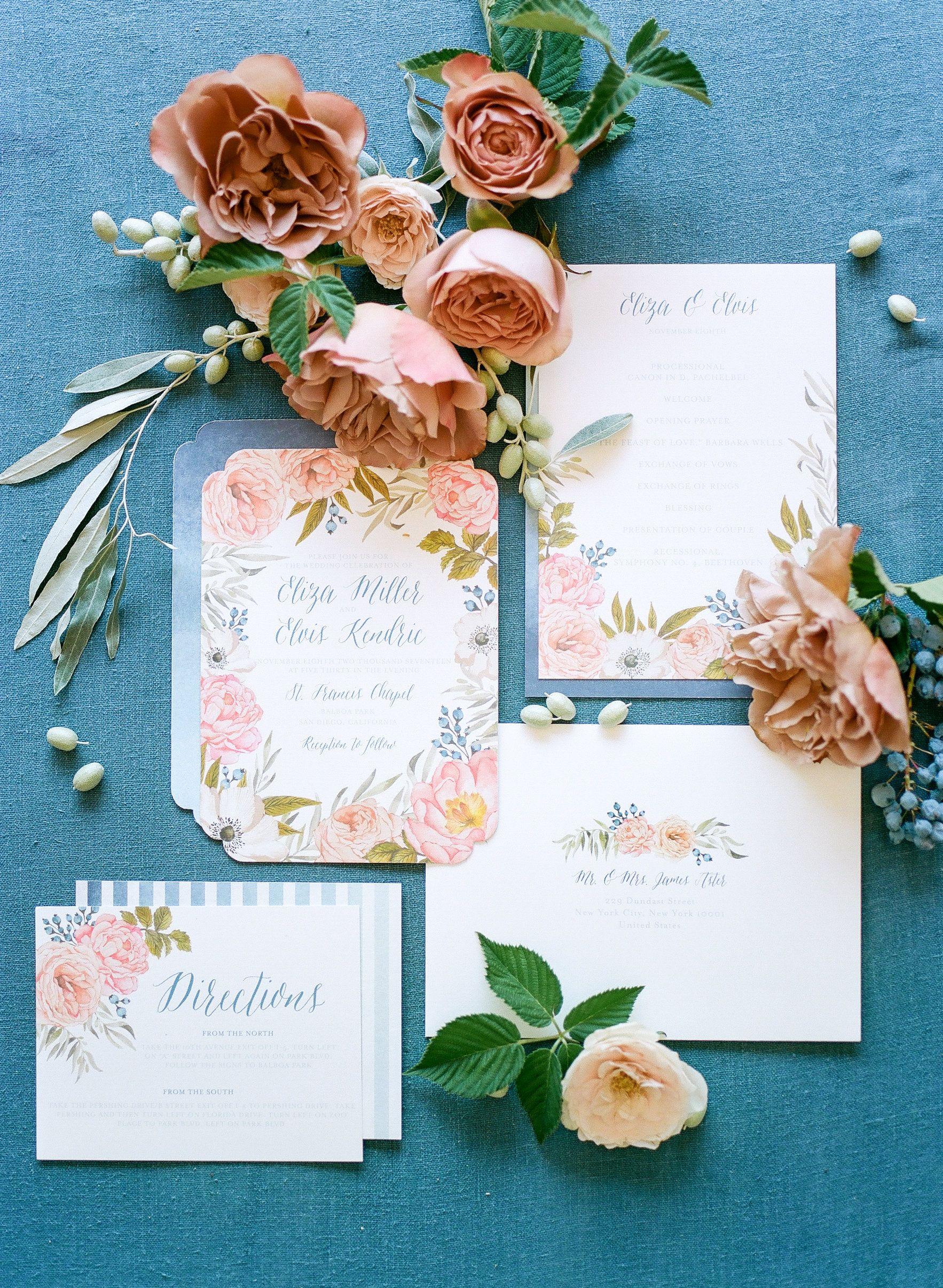 """Garden Rose"" Wedding Invitations. The sweetest design for"