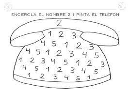 Resultado de imagen para fichas del numero 6 para infantil