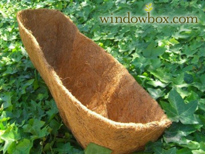 Coconut Liners for XL Size Hayrack Window Boxes | in the