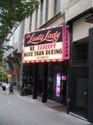 The long lost Lusty Lady of Seattle | Lusty lady, Lady, Seattle
