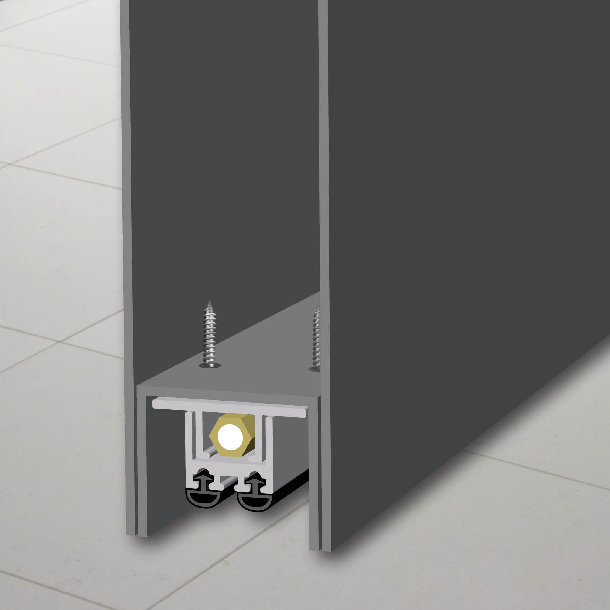 7553 Mortised Automatic Door Bottom Automatic Door Automatic Doors