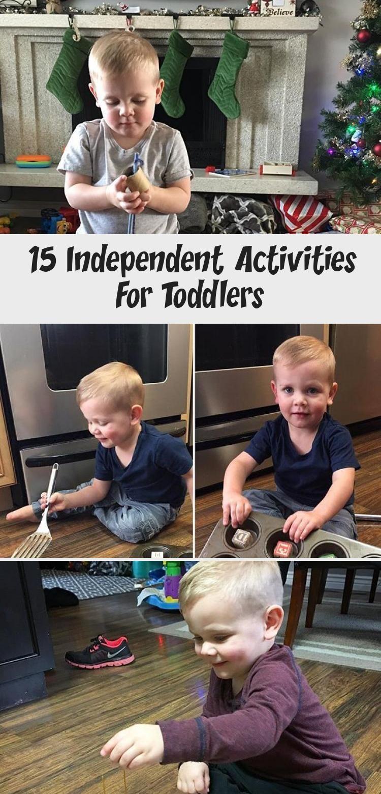 15 Independent Activities for Toddlers childplayOutdoor
