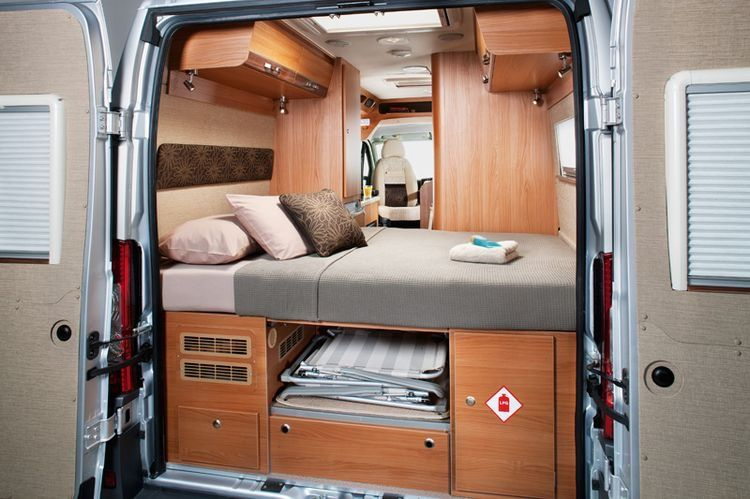 Nice Set Up But Only For Two Ford Transit Camper