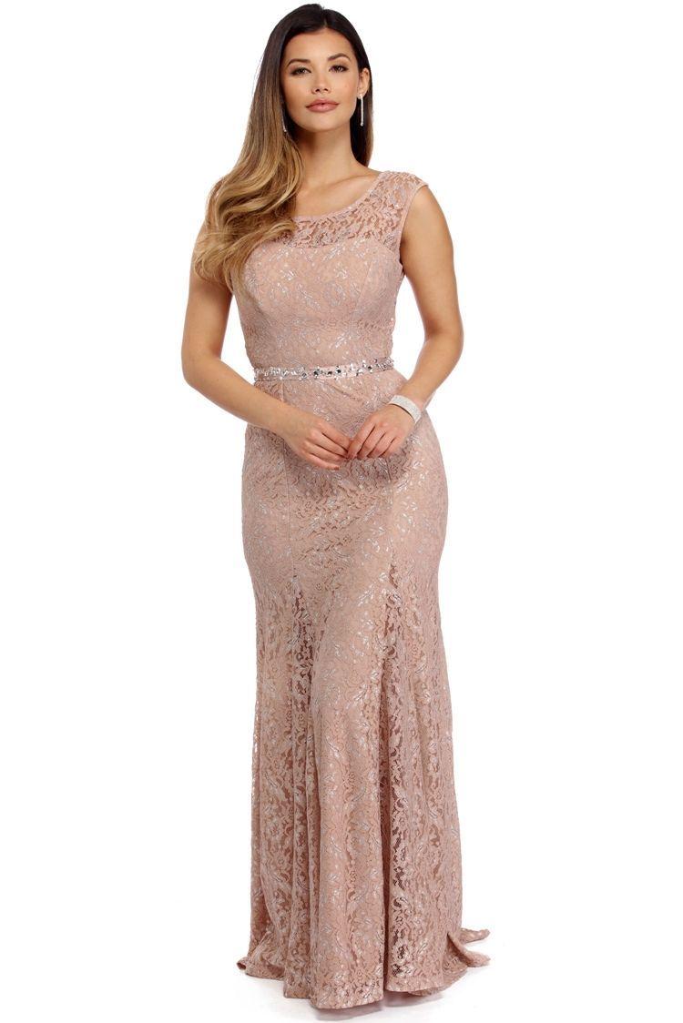 Kaitlin mauve lightly embellished dress prom dresses pinterest