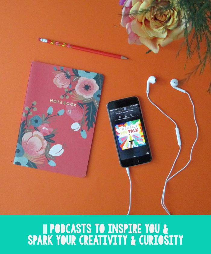 La Lilú: 11 Podcasts to Inspire You & Spark Your Creativity & Curiosity. entrepreneurship, inspiration, motivation, leadership, science, culture, small business, storytelling