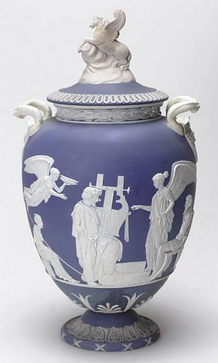Decorated Mining Urn Treasures Of Wedgwood Saved After £274M In Donations In A Month
