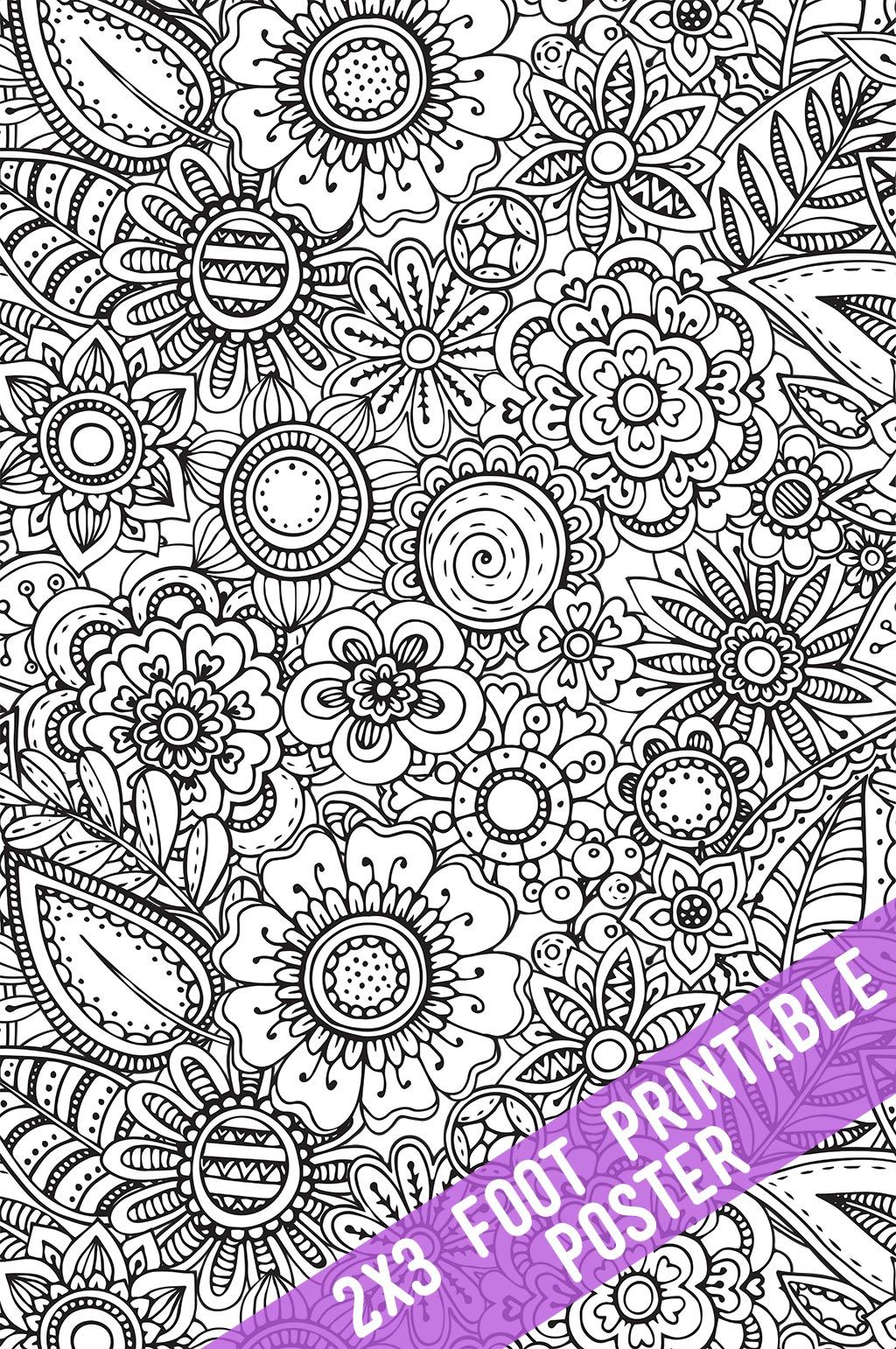Printable Coloring Tablecloths And Posters Poster Colour