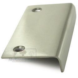 Deltana   Solid Brass 3 Inch X 1 1/2 Inch Drawer, Cabinet And Mirror Pull  In Satin Nickel   ( DCM315U15 )   Additional View