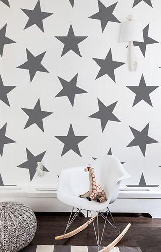 Lucky Star Wallpaper | Interior decorating, Nursery and Wallpaper