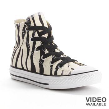 Converse All Star Zebra High-Top