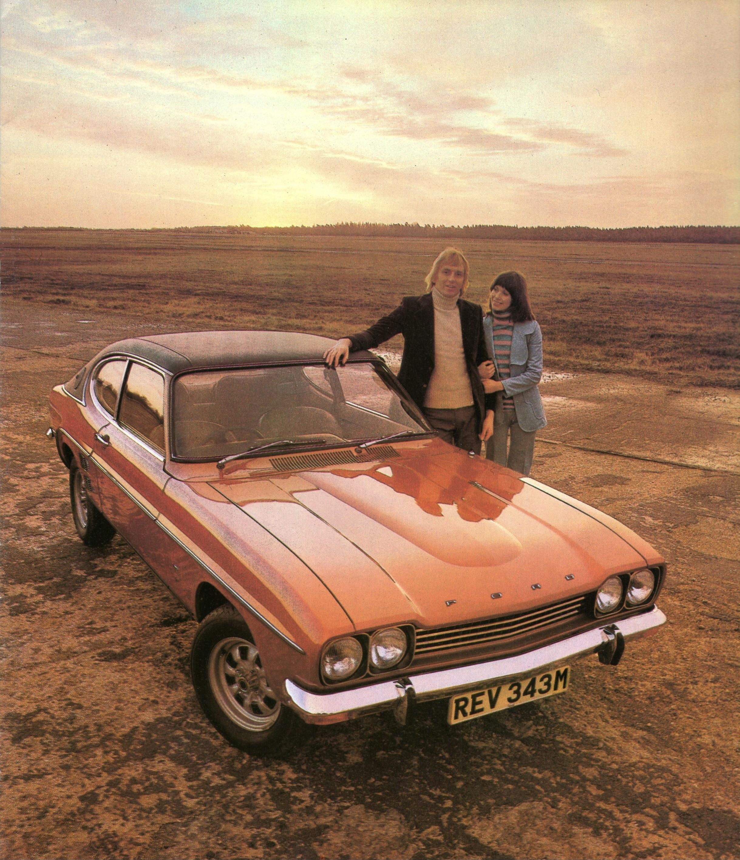 Ford Capri 3000gxl 1972 73 From Ford Uk Brochure Cars Ford