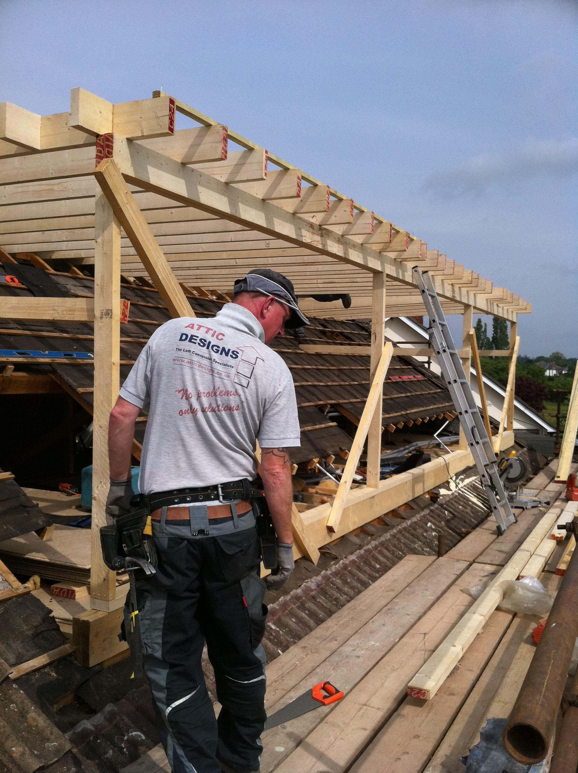 Loft Conversion Flat Roof Dormer In Build 4 Facade In