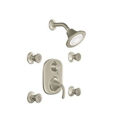 Moen Icon Moentrol Vertical Spa Finish: Brushed Nickel