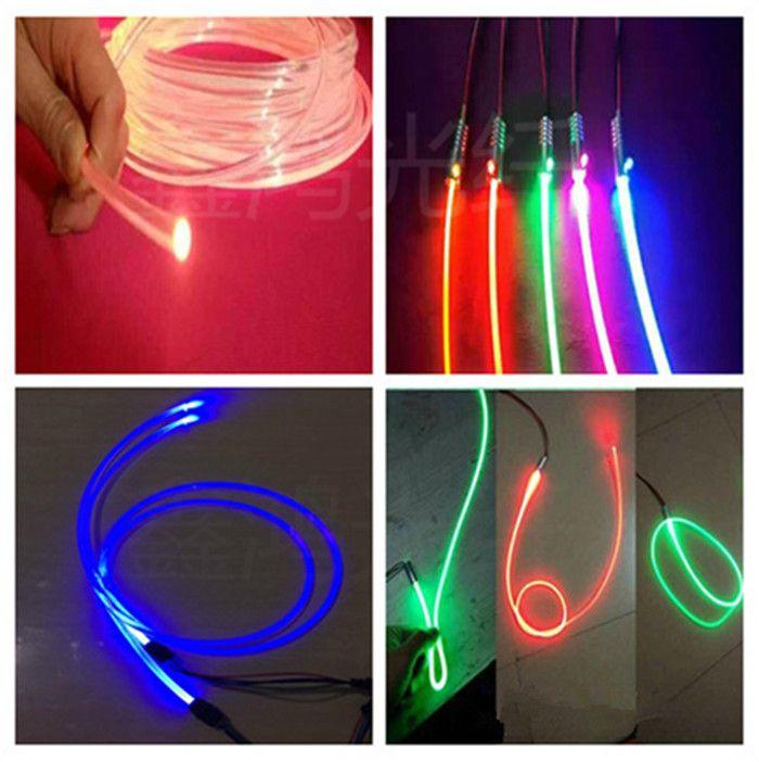 Wireless Dimmable Sunset Sunrise 90w Led Aquarium Light: Check Price Pmma 100mroll 1 5mm Diy Pmma Plastic Fiber Optic