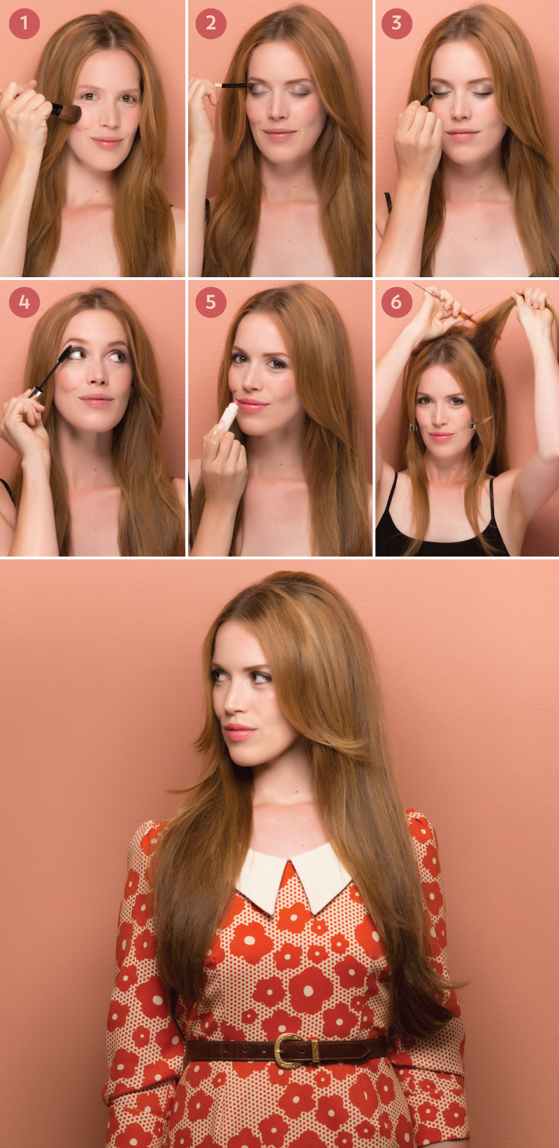 mod and marvelous: how to get swingin' '60s hair and makeup