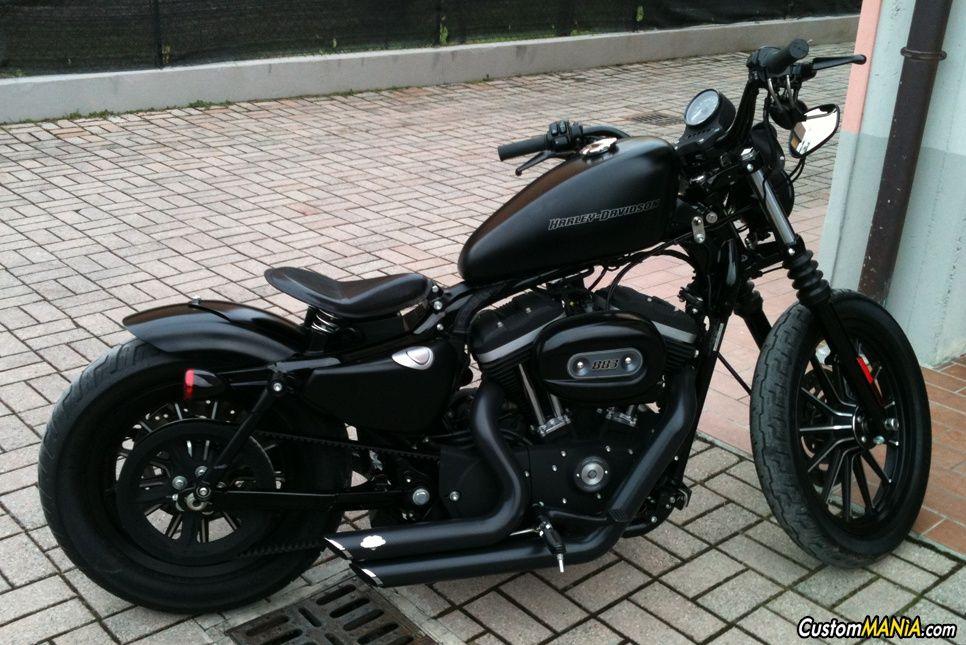 harley davidson sportster xl883n iron custom motorcycles choppers bobbers. Black Bedroom Furniture Sets. Home Design Ideas
