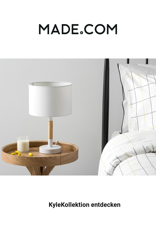 Photo of Lampada da tavolo MADE, bianca