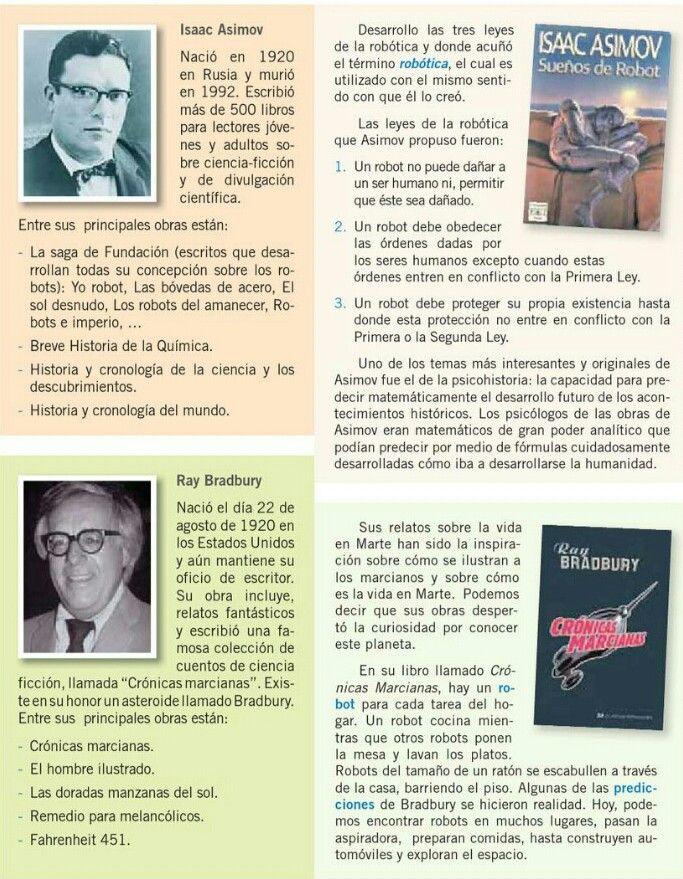 Asimov Bradbury Ciencia Ficcion Literatura Libros