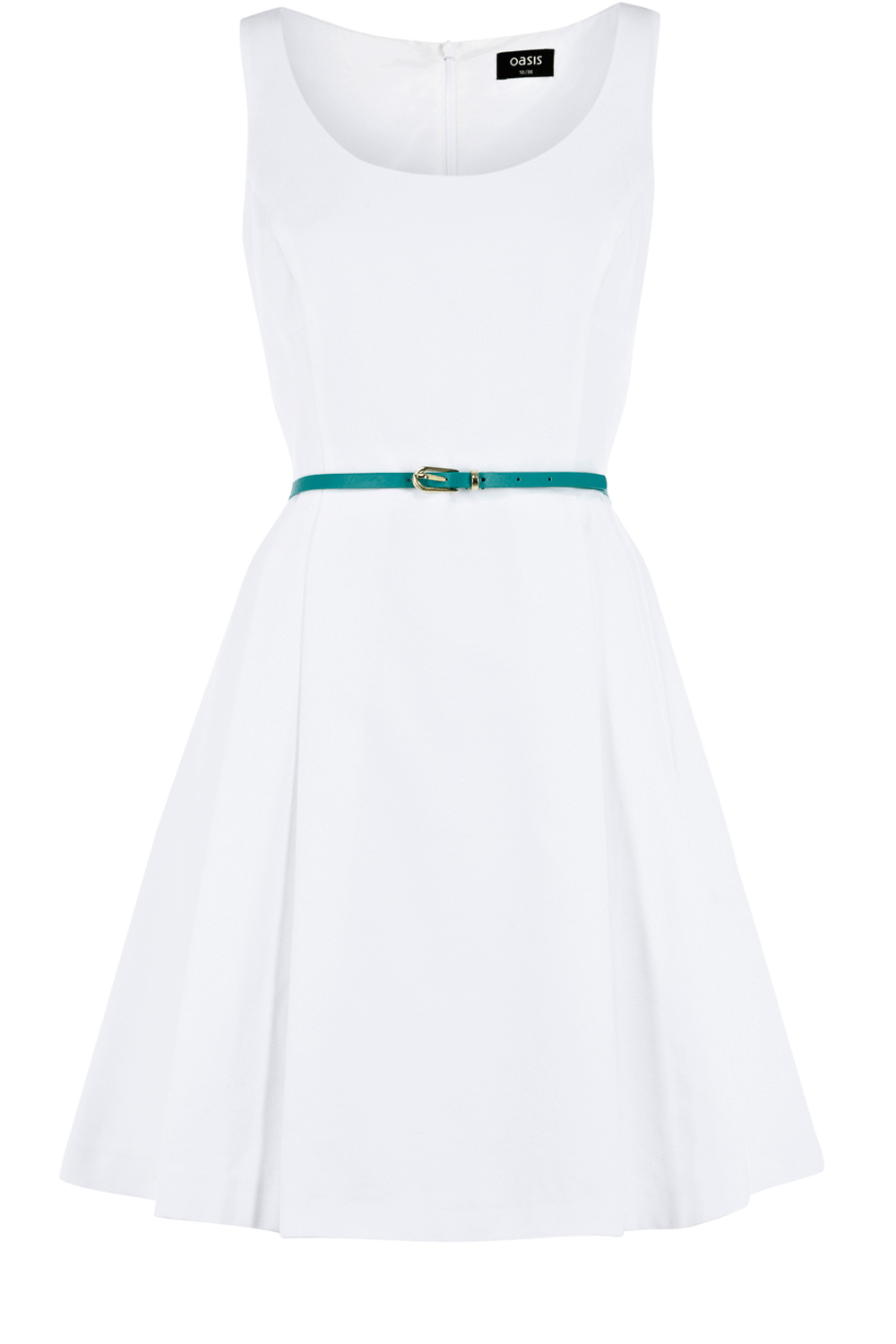 Oasis All Dresses | White Textured Dress | Womens Fashion Clothing | Oasis Stores UK